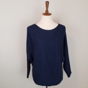 Sparkly Blue Sweater Top